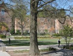 Dodge-Osborn courtyard.