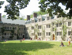 Mathey College courtyard. Photo by Jacob Bregman '06.