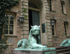 Photo of Nassau Hall tiger