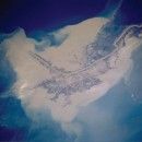 Satellite photo of delta