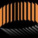 Orange and black image