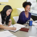 Photo of students in creative writing course