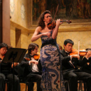 Photo of violin soloist