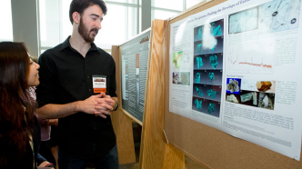 Junior geosciences major Mitch Mitchell. Photo courtesy of the Princeton University Office of Communications.