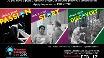 Princeton Research Day 2020 - Call for applications