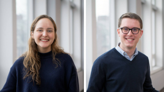 Emma Coley and Ben Press - Pyne Prize Winners 2020
